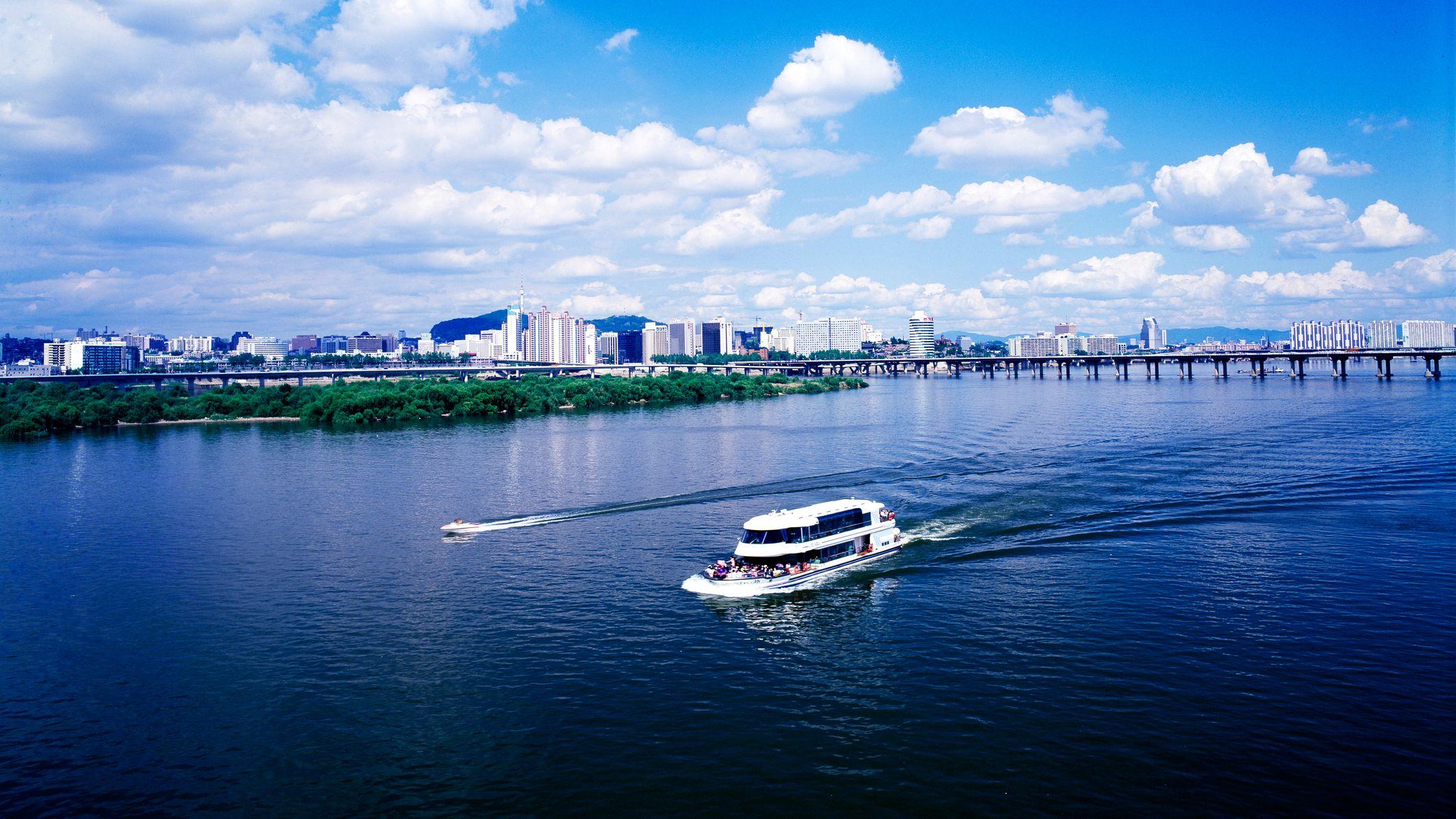 Han River Cruise & N Seoul Tower Tour