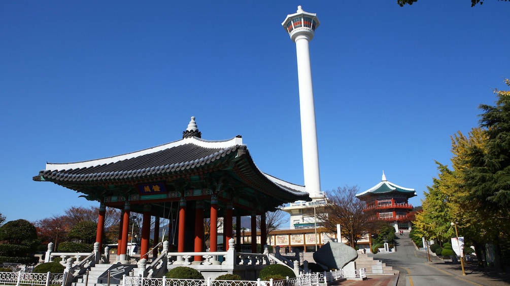 Show item 3 of 5. Temple in Busan City