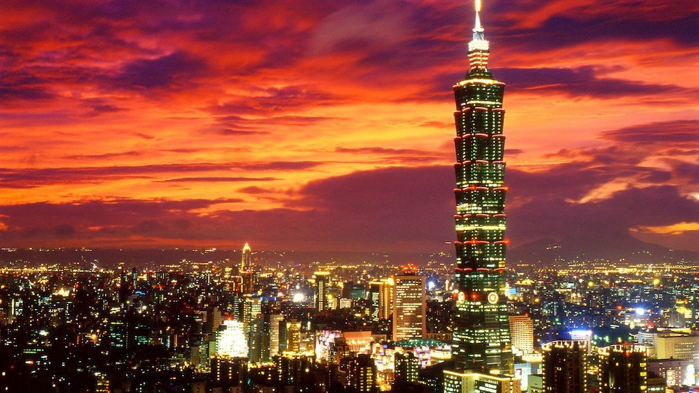 Show item 3 of 6.  Panoramic Night Tour of Taipei