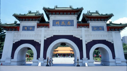 National Revolutionary Martyrs' Shrine in Taipei