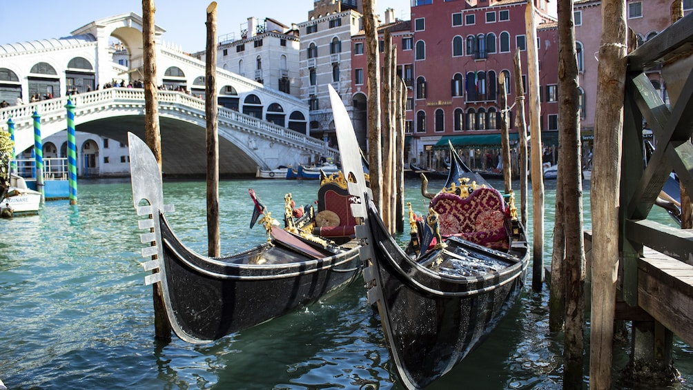 Show item 4 of 8. Piazza San Marco Walking Tour & Gondola Ride