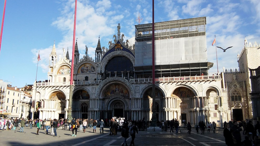 Show item 3 of 8. Exterior view of St Mark's Basilica.