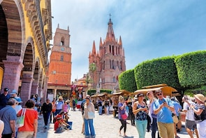 Private Tour Discover San Miguel de Allende from Mexico City