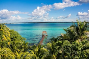 Tour The Lagoon Of The 7 Colors From Riviera Maya