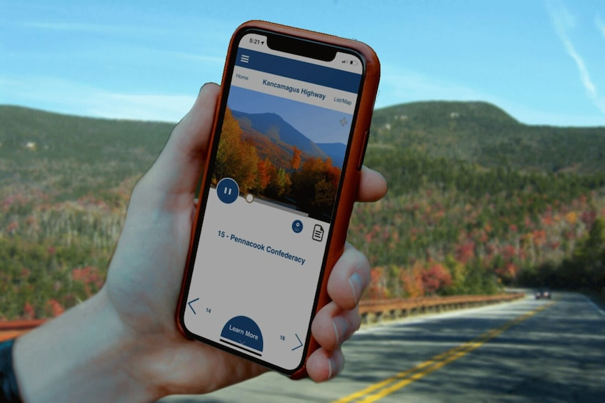 Show item 4 of 10. Kancamagus Scenic Highway Self-Driving Tour