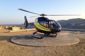 Paros to Mykonos Helicopter Flight