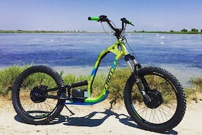100% electric all-terrain scooter excursion in the Camargue