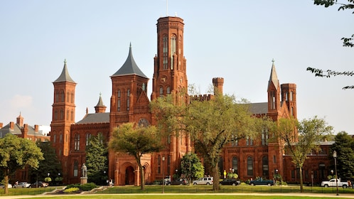 Exterior view of Smithsonian.