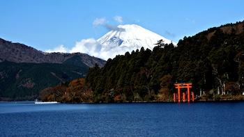 Mt Fuji Area Tour with Lake Cruise & Odawara Castle Park