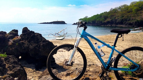 Bicycle at the beach in Bali