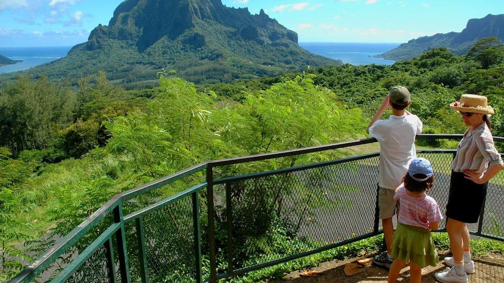 Show item 3 of 6. Family sightseeing in Bora  Bora