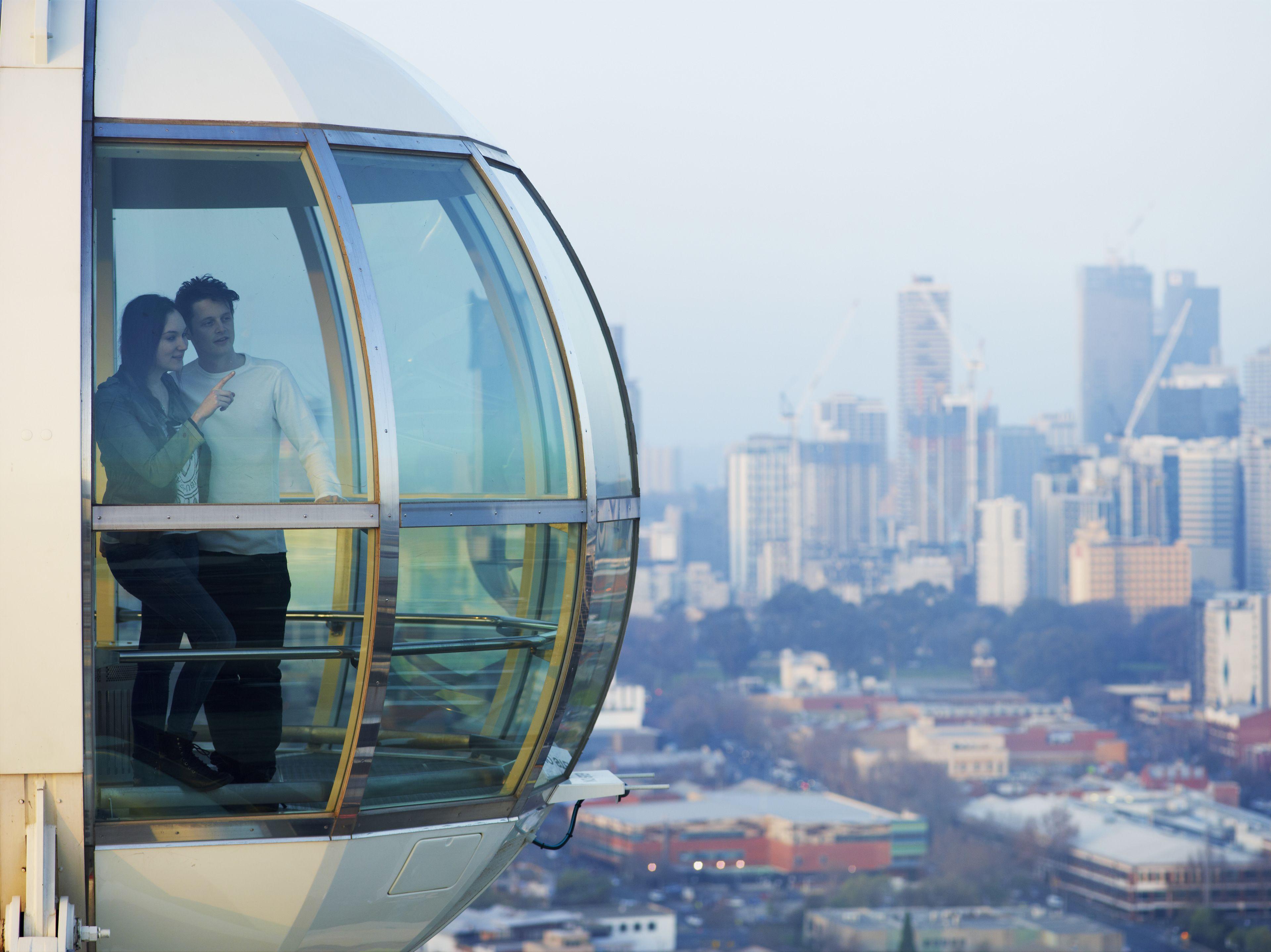 Alquiler privado de cabinas de la noria de observación Melbourne Star