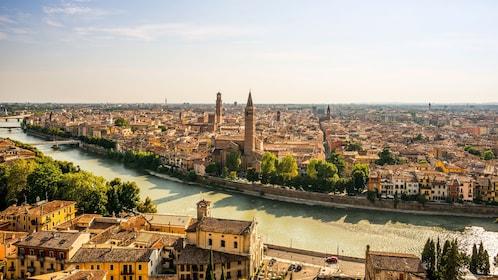 Panoramic view of Verona