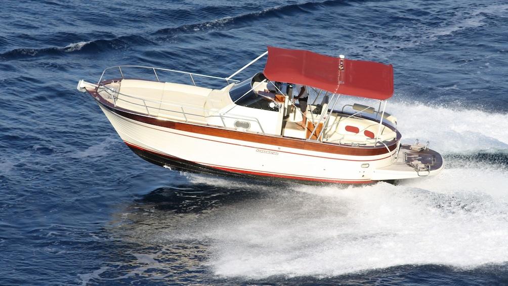 Apri foto 5 di 9. boat speeding at the coast in Italy