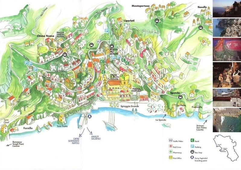 Apri foto 4 di 9. Positano &  Amalfi Tour by Boat & Light Lunch from Sorrento