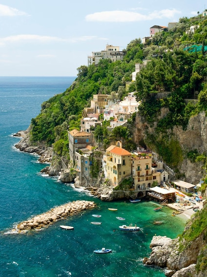 Show item 2 of 10. Amalfi Coast Small-Group Tour from Sorrento By Minivan