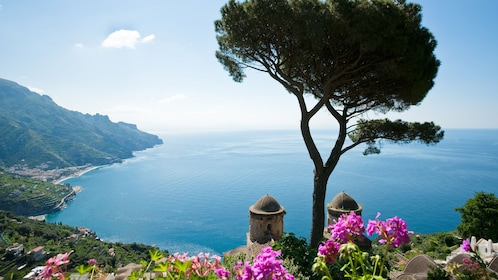 The Amalfi Coast in Ravello, Italy.