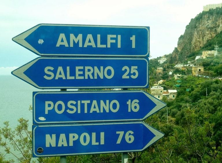Amalfi Coast Small-Group Tour from Sorrento By Minivan