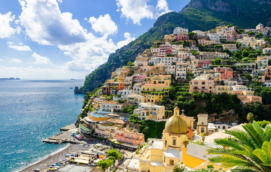 Show item 1 of 10. Amalfi Coast Small-Group Tour from Sorrento By Minivan