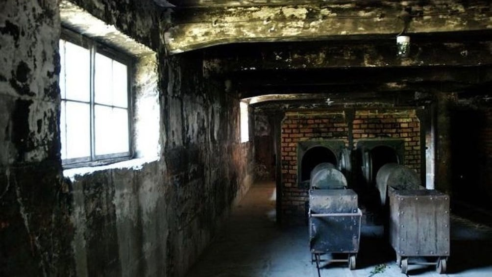 Auschwitz-Birkenau Crematorium in Poland
