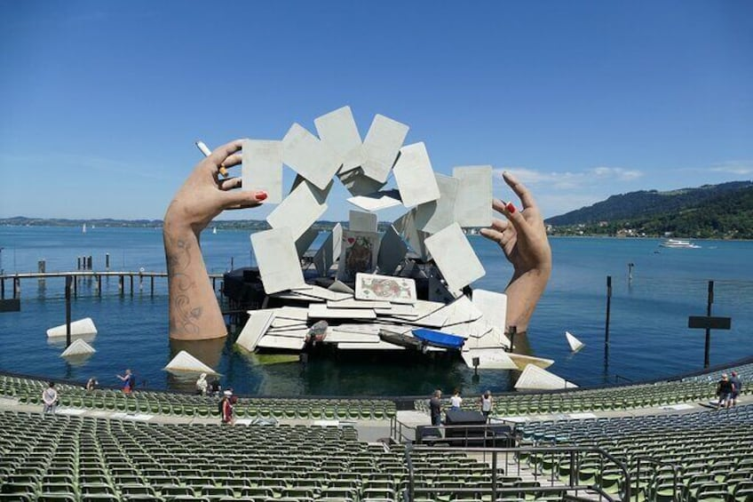 Show item 1 of 6. Surprise Walk of Bregenz with a Local