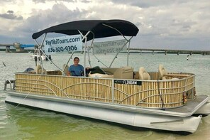 Half-Day Private Tiki Boat Beach Tour from Fort Myers