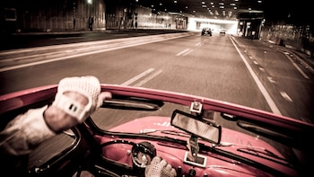 Vintage Milan Night Tour in a Fiat 500