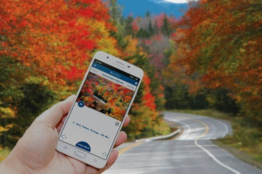 Show item 3 of 12. Kancamagus Scenic Highway Self-Driving Audio Tour