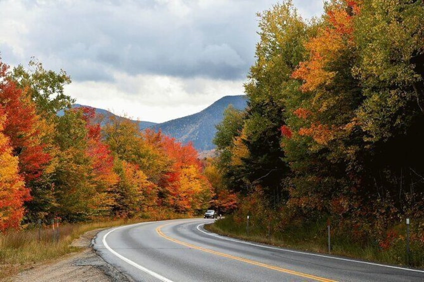 Show item 2 of 12. Kancamagus Scenic Highway Self-Guided Driving Tour