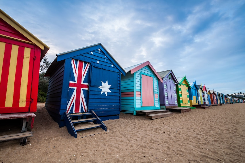 Show item 5 of 7. Phillip Island Wildlife And Brighton Beach Boxes Private Car
