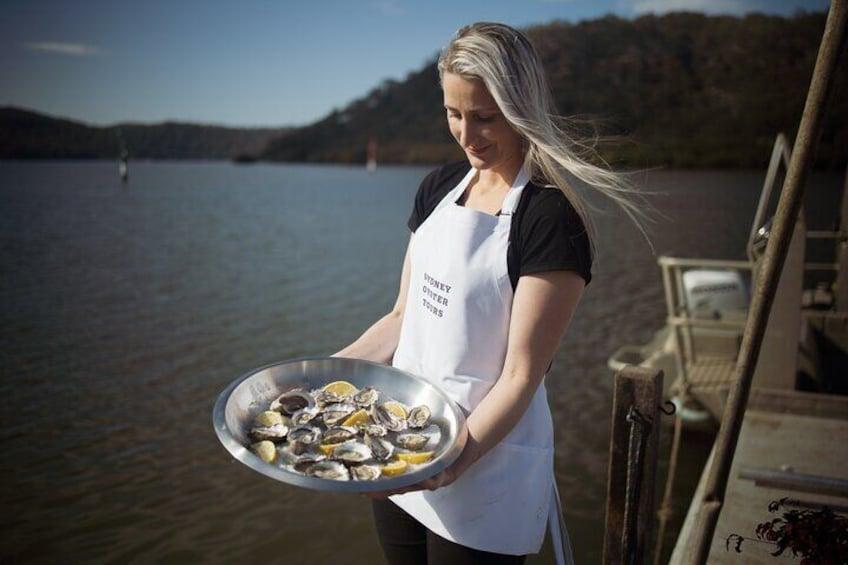 Show item 3 of 7. Oyster Farm Tour- Hawkesbury River (1hr North of Sydney).