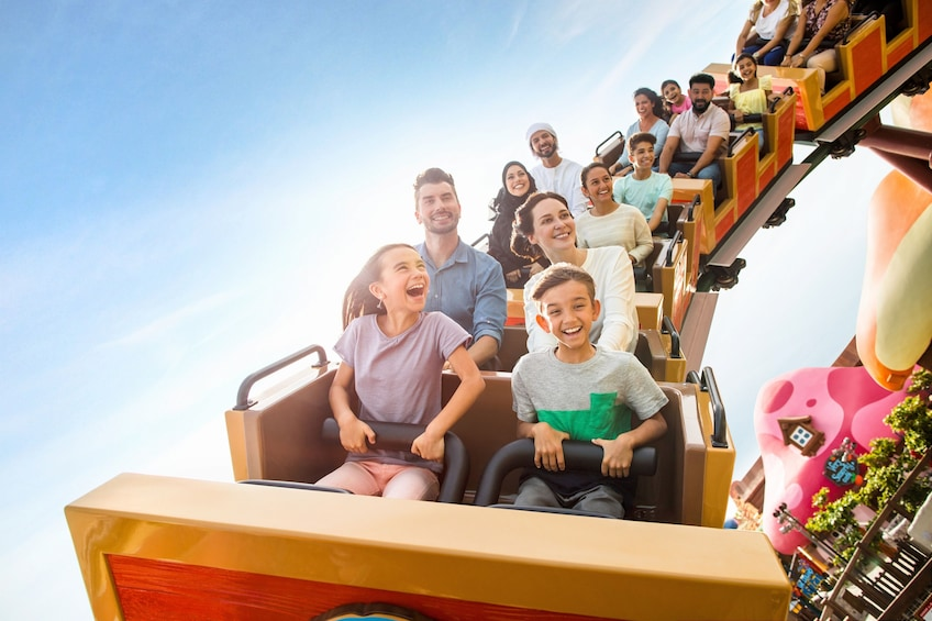 Show item 1 of 10. Four Park Pass with Q-Fast - Dubai Parks and Resorts