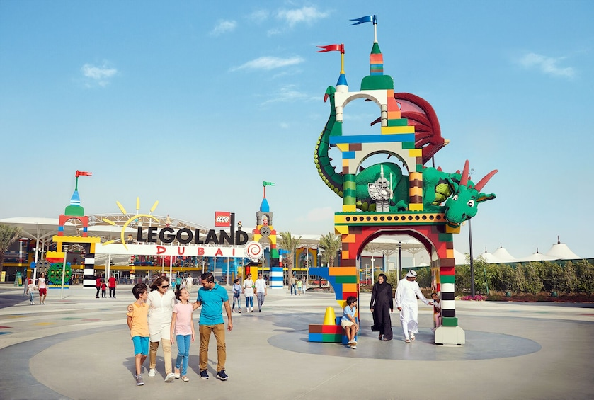 Show item 5 of 10. Four Park Pass with Q-Fast - Dubai Parks and Resorts