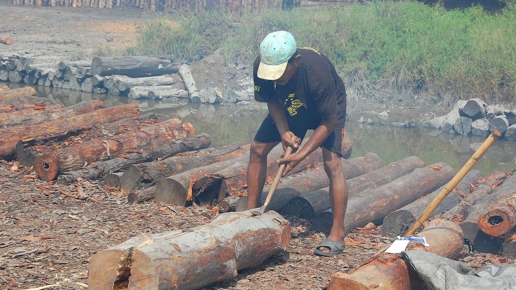 正在顯示第 2 張相片,共 8 張。 Private Orangutan and Charcoal Factory with Lunch