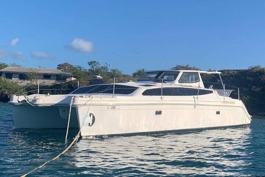 Private Group Catamaran Trip to Culebrita, Luis Pena, or Beyond