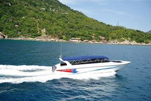 Koh Phangan to Koh Samui post COVID-19 Transfer by Lomlahk Khirin Speedboat