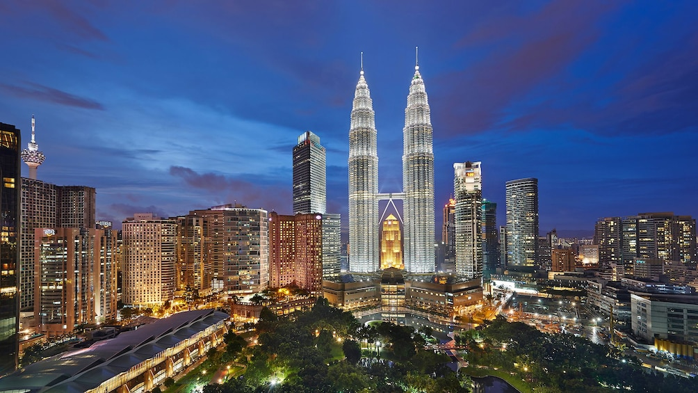 Show item 1 of 4. Private Kuala Lumpur Night City Tour With Dinner