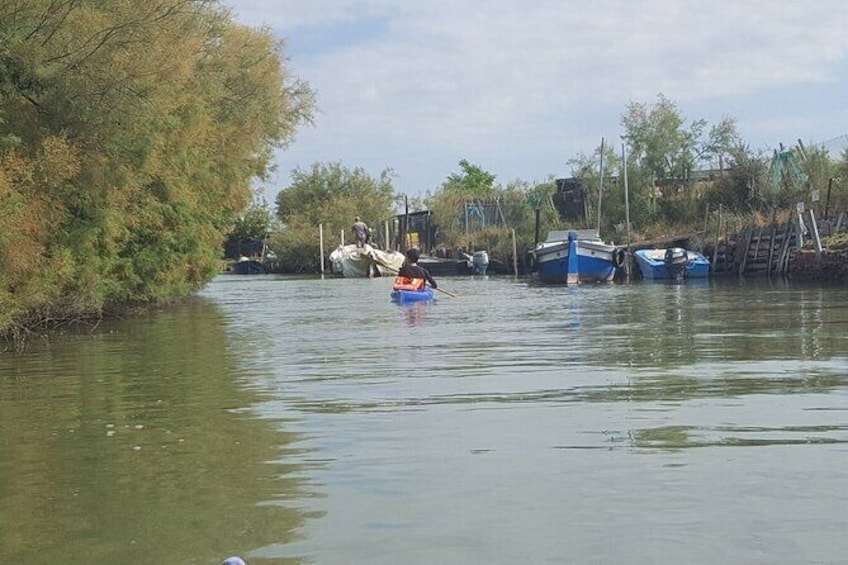 Show item 4 of 5. Private Kayak Tour in the Venetian Lagoon