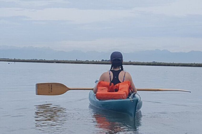 Show item 2 of 5. Private Kayak Tour in the Venetian Lagoon