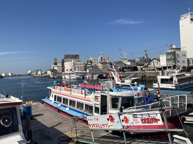 Show item 2 of 8. Octopus Pot Takotsubo Fishing and Inland Sea Cruising with L