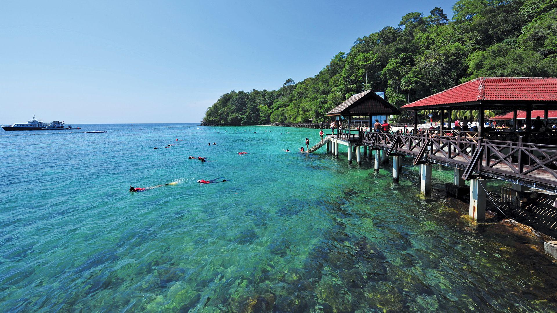 Perjalanan ke Marine Park Pulau Payar