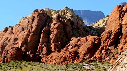 Red rock formations in the Grand Canyon in Arizona
