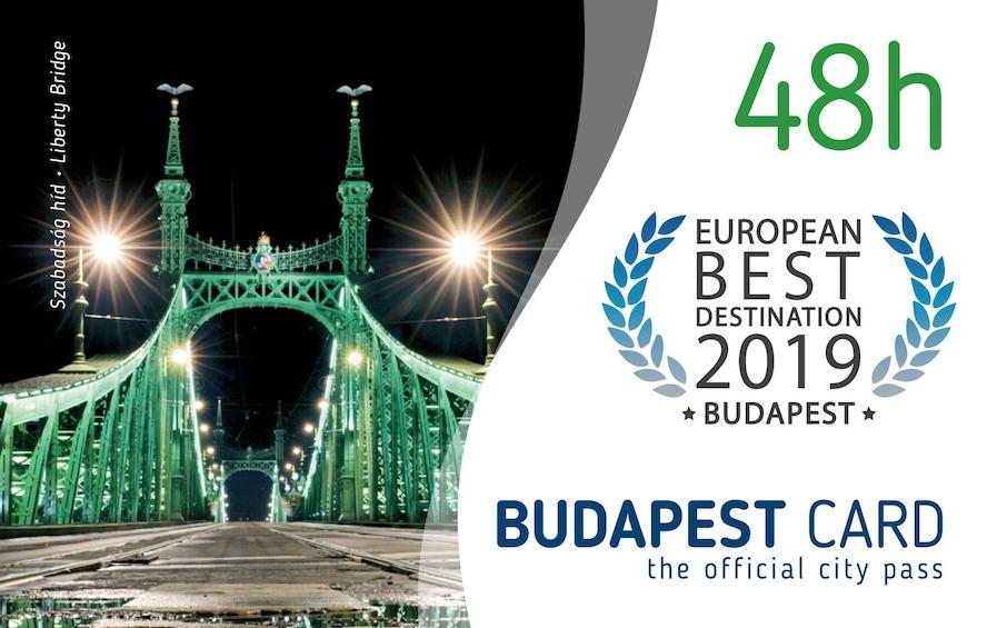 Foto 3 von 9 laden Budapest Card with Unlimited Public Transportation