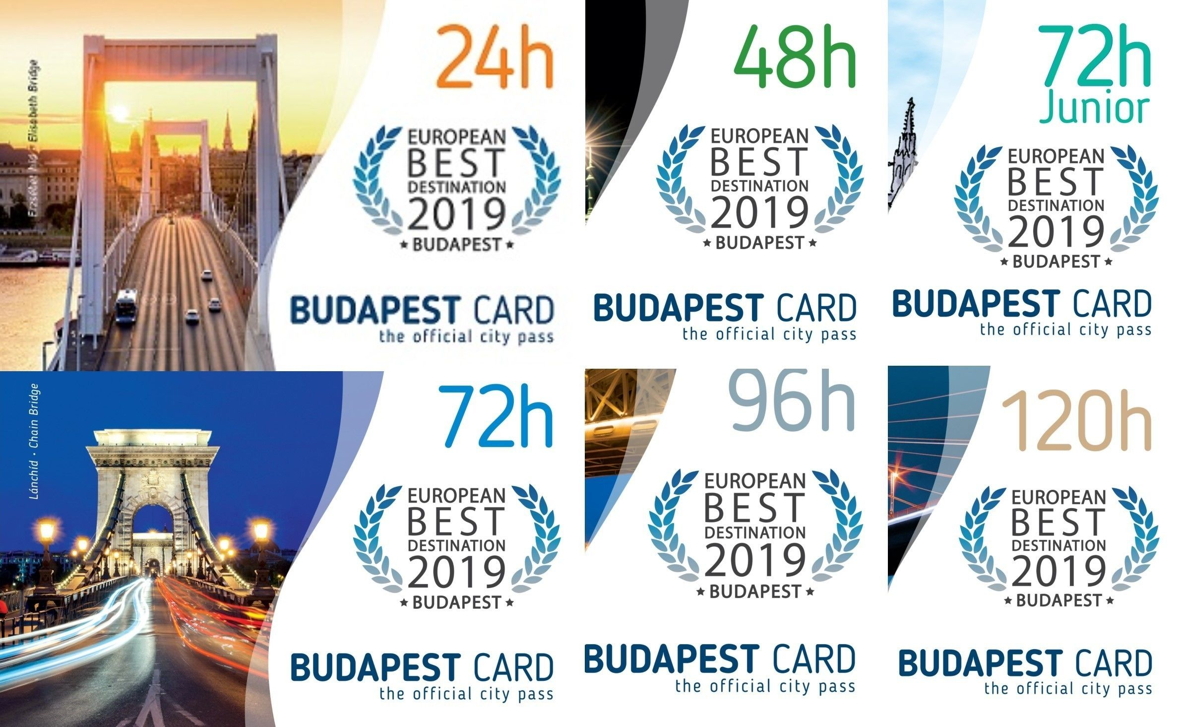 Budapest Card with Unlimited Public Transportation