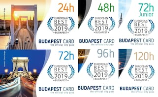 Budapest Card con trasporto pubblico illimitato incluso