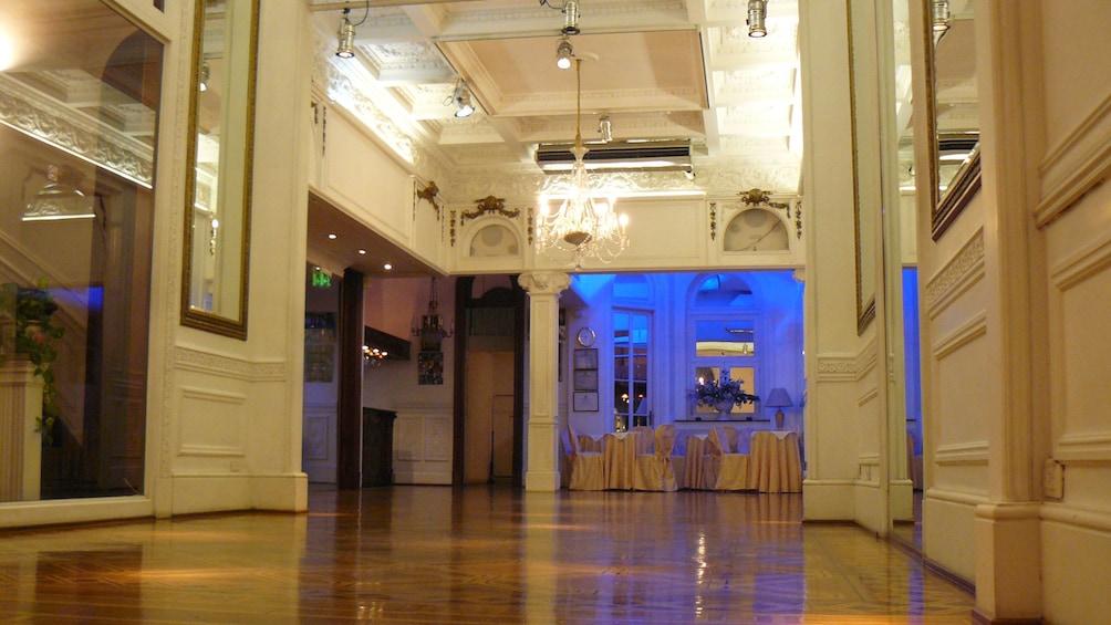 Ballroom in Argentina