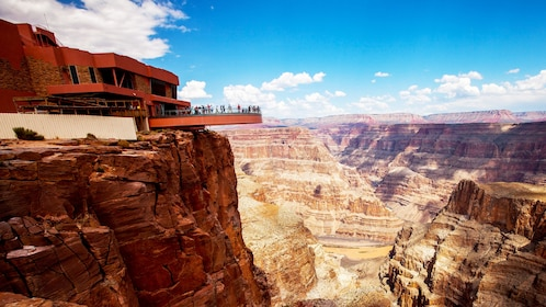Observation Deck with the Grand Canyon in the background