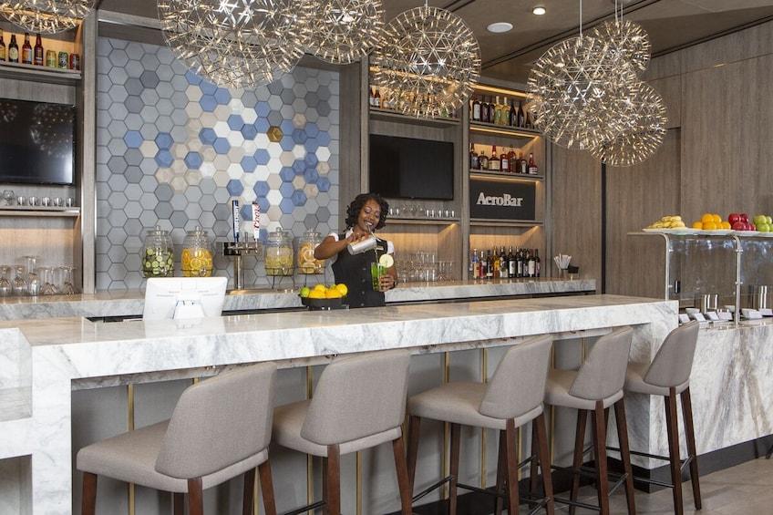 Plaza Premium Lounge Dallas Fort Worth International Airport