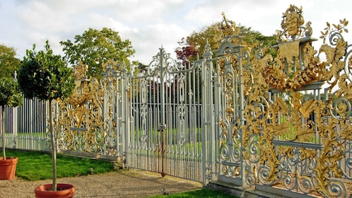 highly decorative gate in London