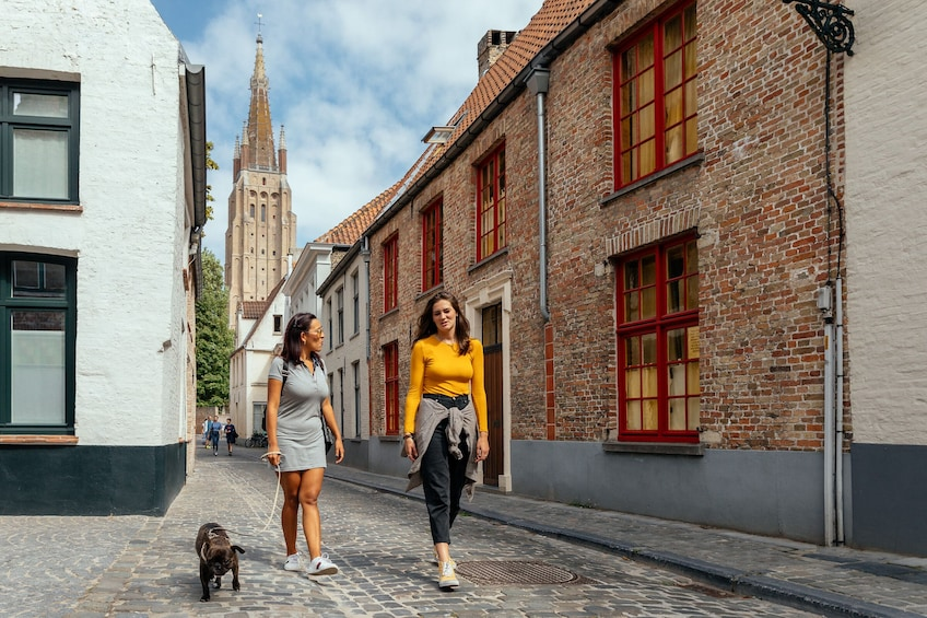 Show item 1 of 1. Lonely Planet Experience: Bruges Unveiled - Kickstart Walk